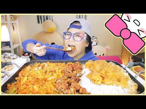 INDIAN FOOD ft. CURRY | MUKBANG [먹방]