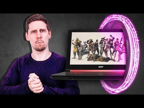 БЮДЖЕТНЫЙ НОУТБУК ДЛЯ CS:GO и APEX | Обзор НОВОГО Acer Nitro 5