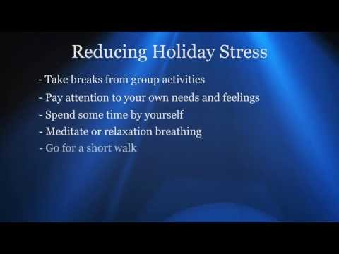 Reducing Holiday Stress Boys Town National Research Hospital