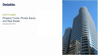 Link'n Learn - Private Equity, Property Funds & Real Estate