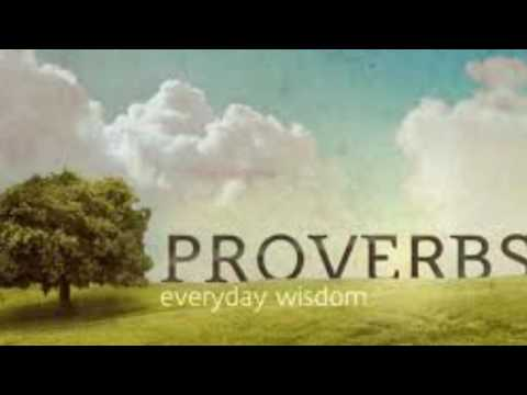 Proverbs Chapter 22