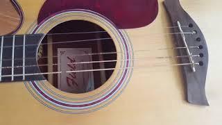 Sự xuống cấp của Guitar Trung Quốc (field model FD-W210C NS)