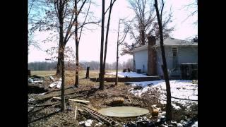 Corn Crib - Pouring The Foundation 2013-03-28