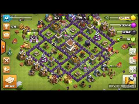 Clash of clans and upgrade ing