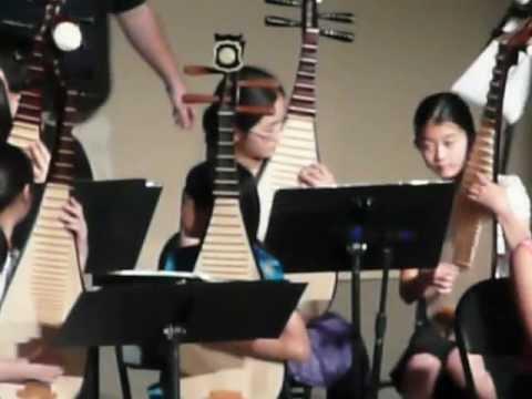 Erhu performance at Acton Chinese Language School