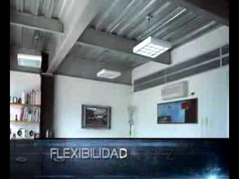 Acesco caribe metaldeck youtube for Cual es el techo mas economico para una casa