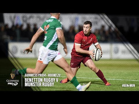Guinness PRO14 Round 20 Highlights: Benetton Rugby v Munster Rugby