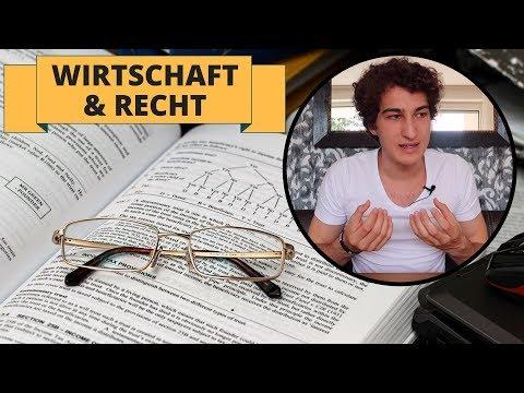 Wirtschaft und Recht Abitur 2018: So klappt's mit der 1!