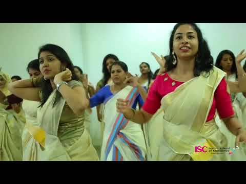 Jimikki KammalDance Perfomance by Indian School of Commerce mp4