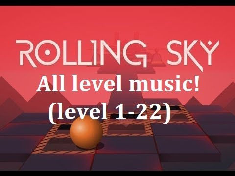 Rolling sky-all levels music! (level 1-22) (2017) OST