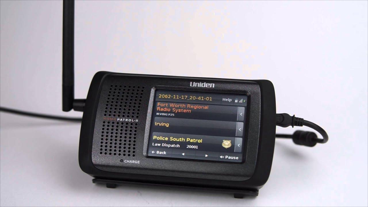Uniden HomePatrol-2 Scanner
