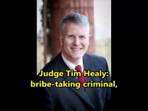 Corrupt Calaveras County Judge Tim Healy