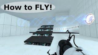 Portal 2 Tutorial - Crouch Flying Glitch (CFG)