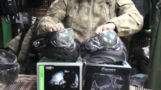 видео пейнтбольные маски
