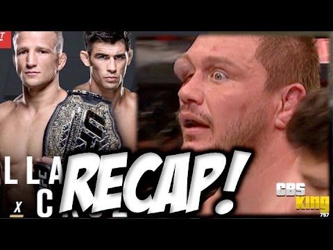"★ UFC FIGHT NIGHT 81 RECAP : ""TJ DILLASHAW vs DOMINICK CRUZ"" ""MATT MITRIONE EYE WTF!?"" ""RESULTS"""