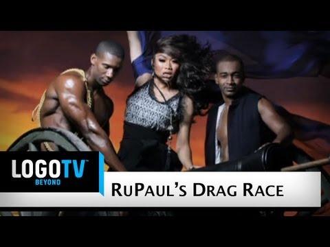 RuPaul's Drag Race Season 2 - Gone With The Wind Photoshoot - LogoTV