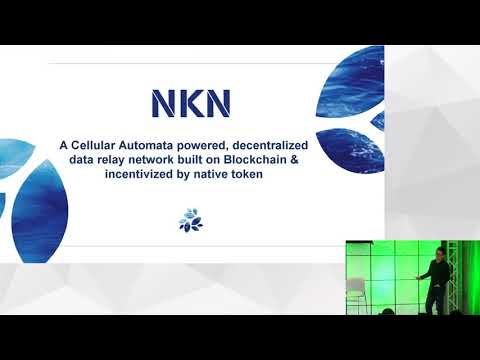 """NKN, The Network System of Blockchain  Inspired by """"A New Kind of Science""""   NEO DevCon 1"""