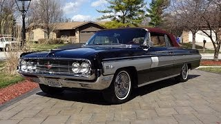 1962 Oldsmobile Olds Starfire Convertible & Engine Start Up & Ride - My Car Story with Lou Costabile