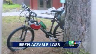 Cancer patient's bike stolen during cross country ride