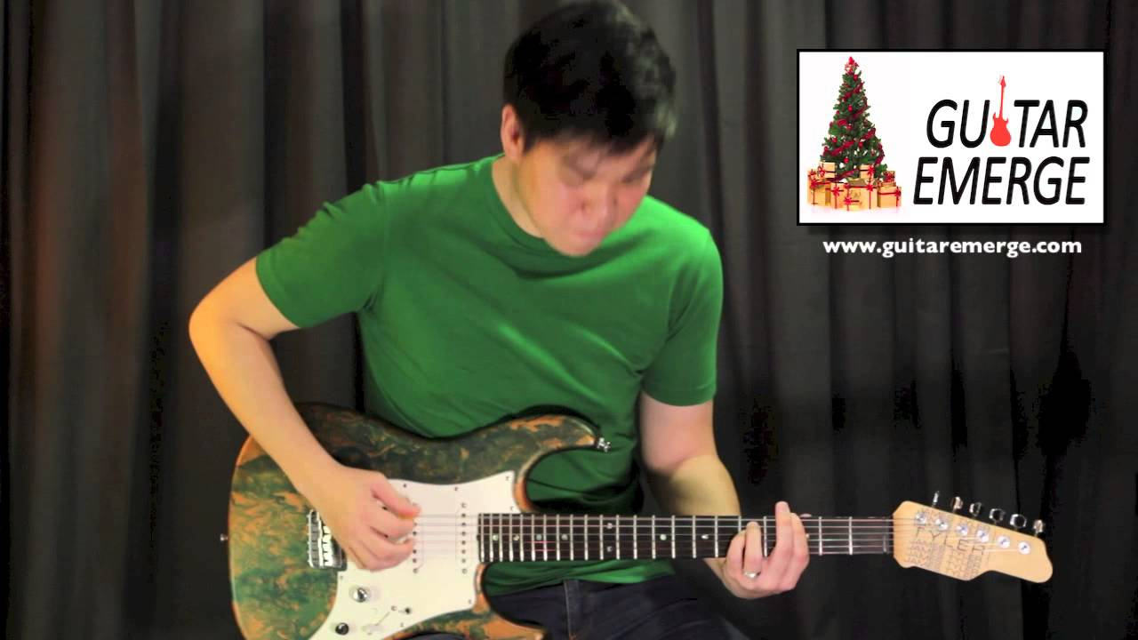 Guitar Emerge - Relient K - 12 Days Of Christmas (Electric Guitar ...