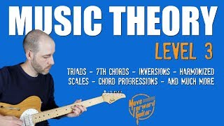 Music Theory 3 Trailer (Guitar Course)