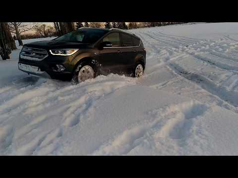 Ford Escape(KUGA)2.0L ecoboost off-road snow test