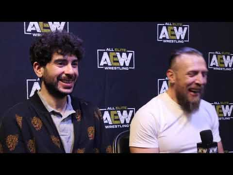 BRYAN DANIELSON TALKS AEW AT ALL OUT 2021 DEBUT, WHY HE LEFT WWE, RELATIONSHIP W/ VINCE MCMAHON