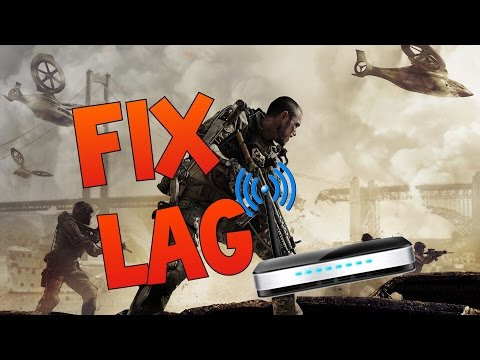 HOW TO FIX LAG IN ADVANCED WARFARE - Call of Duty Advanced Warfare lag fix