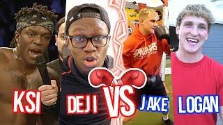 KSI wants to fight Jake & Logan Paul Update Video