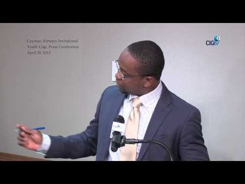 Cayman Airways Invitational Youth Cup Press Conference, April 30 2015