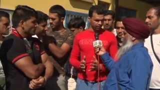 pakistan kabadi players tv interview to punjab channel