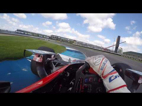 #INDYCAR In-Car Theater: Graham Rahal At The Indianapolis Motor Speedway Road Course