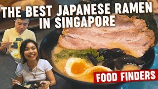 The Best Japanese Ramen in Singapore: Food Finders EP2