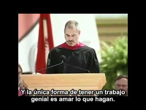 Steve Jobs Discurso en Stanford Sub Español HD   YouTube Videos De Viajes
