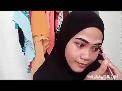Tutorial Apply Inai Kening (Henna Brow)