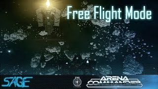 Star Citizen, Arena Commander, Free Flight Mode