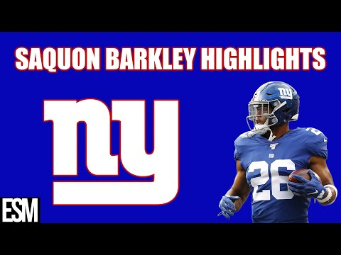 Saquon Barkley's 2019 Season Highlights
