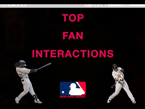 The Best Fan Interactions in Major League Baseball (2011-2016)