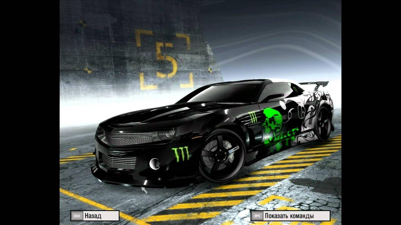 Monster Rally Car Wallpaper Chevrolet Camaro Monster Energy Hd Youtube