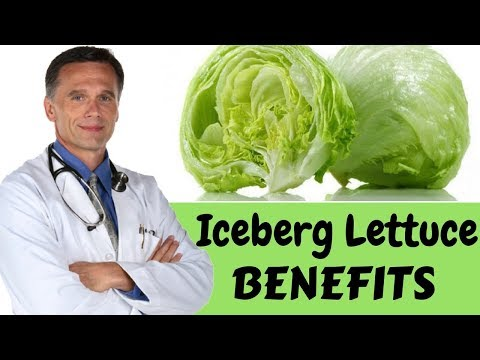 Healthy Reasons to Eat Iceberg Lettuce || Benefits of Iceberg Lettuce