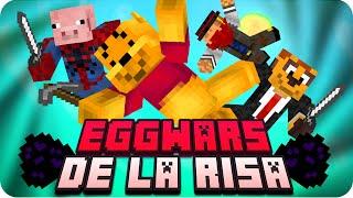 ESTO ES LA RISA! | Minecraft Eggwars - Sarinha, Macundra, Exo y Luh