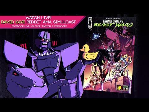 TransMissions Simulcast: David Kaye AMA - Beast Wars 25th Anniversary!