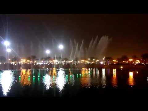 King Abdullah Park, Water Fountain Show, Riyadh