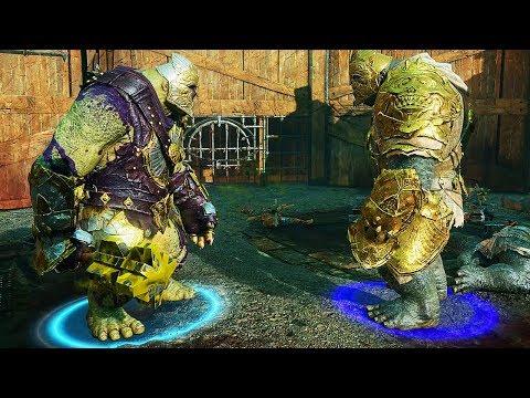 SHADOW OF WAR - High Level Arena Boss Battles Tracker Beautiful Purple Olog