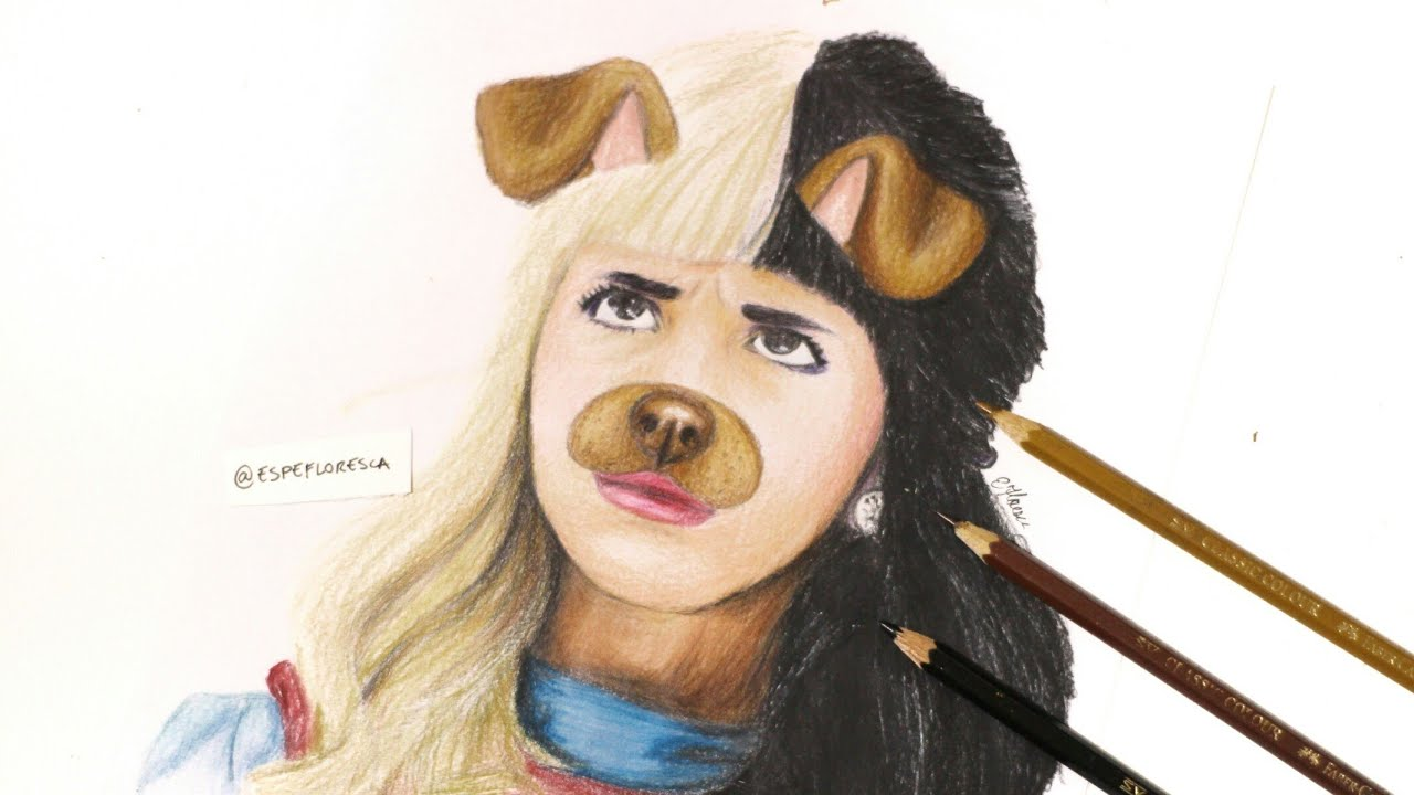Drawing Melanie Martinez (alphabet Boy)
