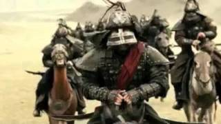 Mongol Battle Scene