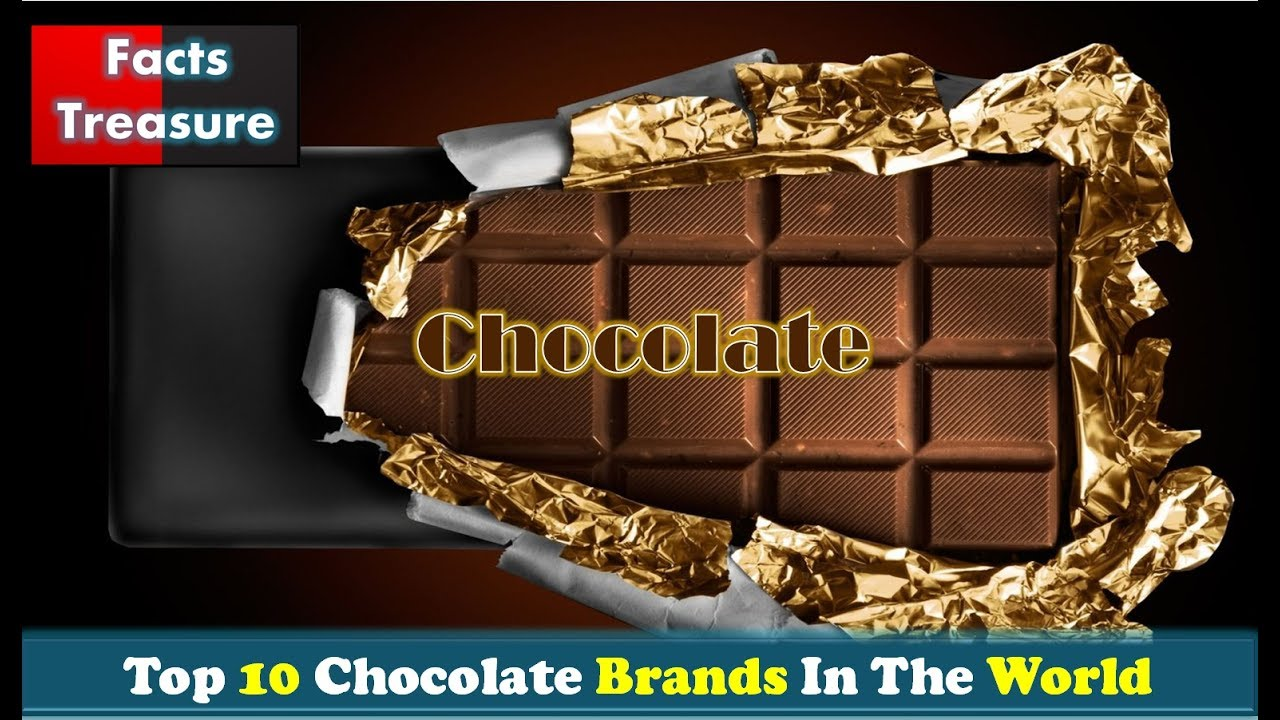 Top 10 most popular fashion brands in the world - Top 10 Chocolate Brands In The World 2017