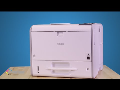 The Ricoh SP 4510DN is a fantastic cost-saving black and white printer. It has quick speeds with 40 pages per minute and delivers a great consistent quality.
