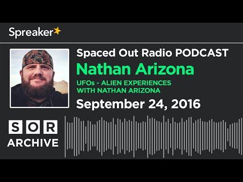 Cosmic Passport Replay - Nathan Arizona talks Alien Experiences