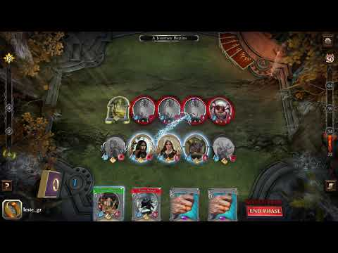 Lord of the Rings   Living Card Game demo |